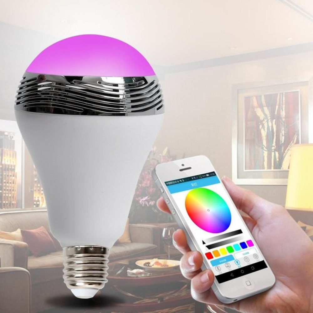 LED Music Light RGB MUSIC BLUETOOTH BULB