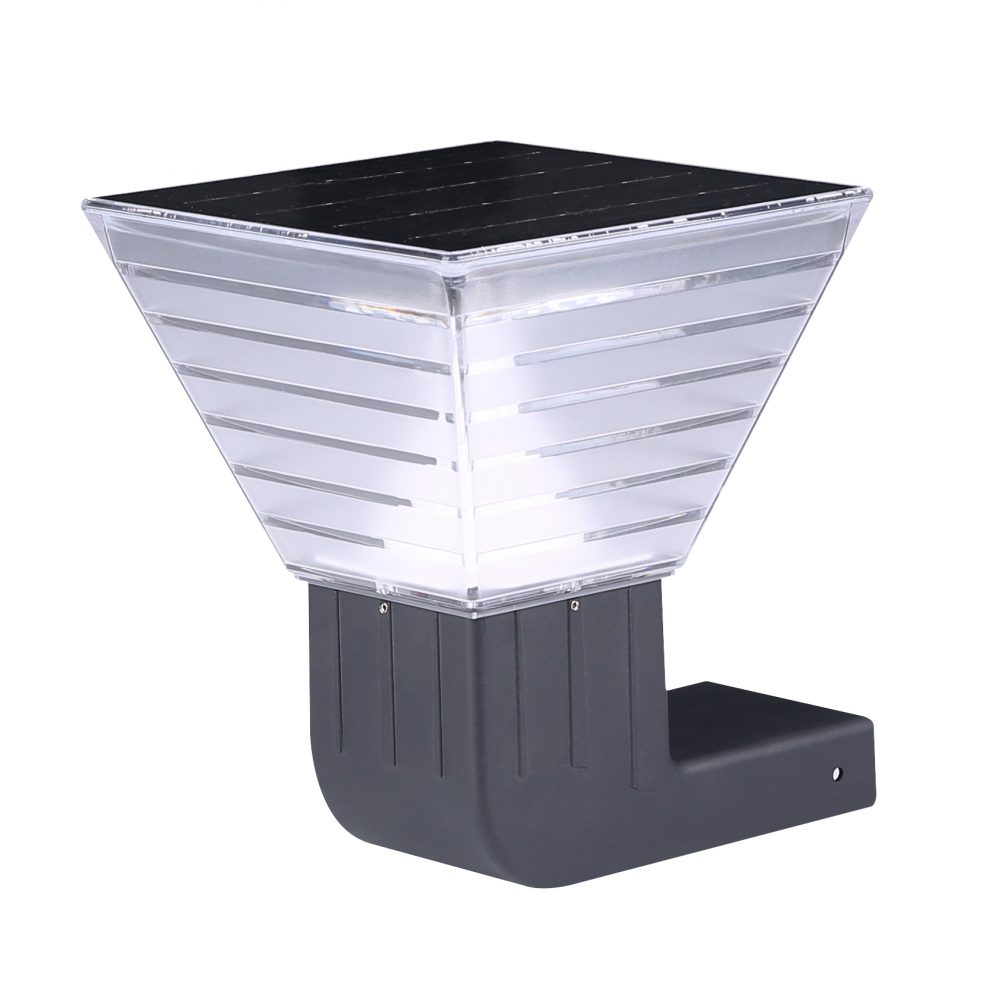 Solar LED Wall Light PLS-WL-5W-3K/5K-250