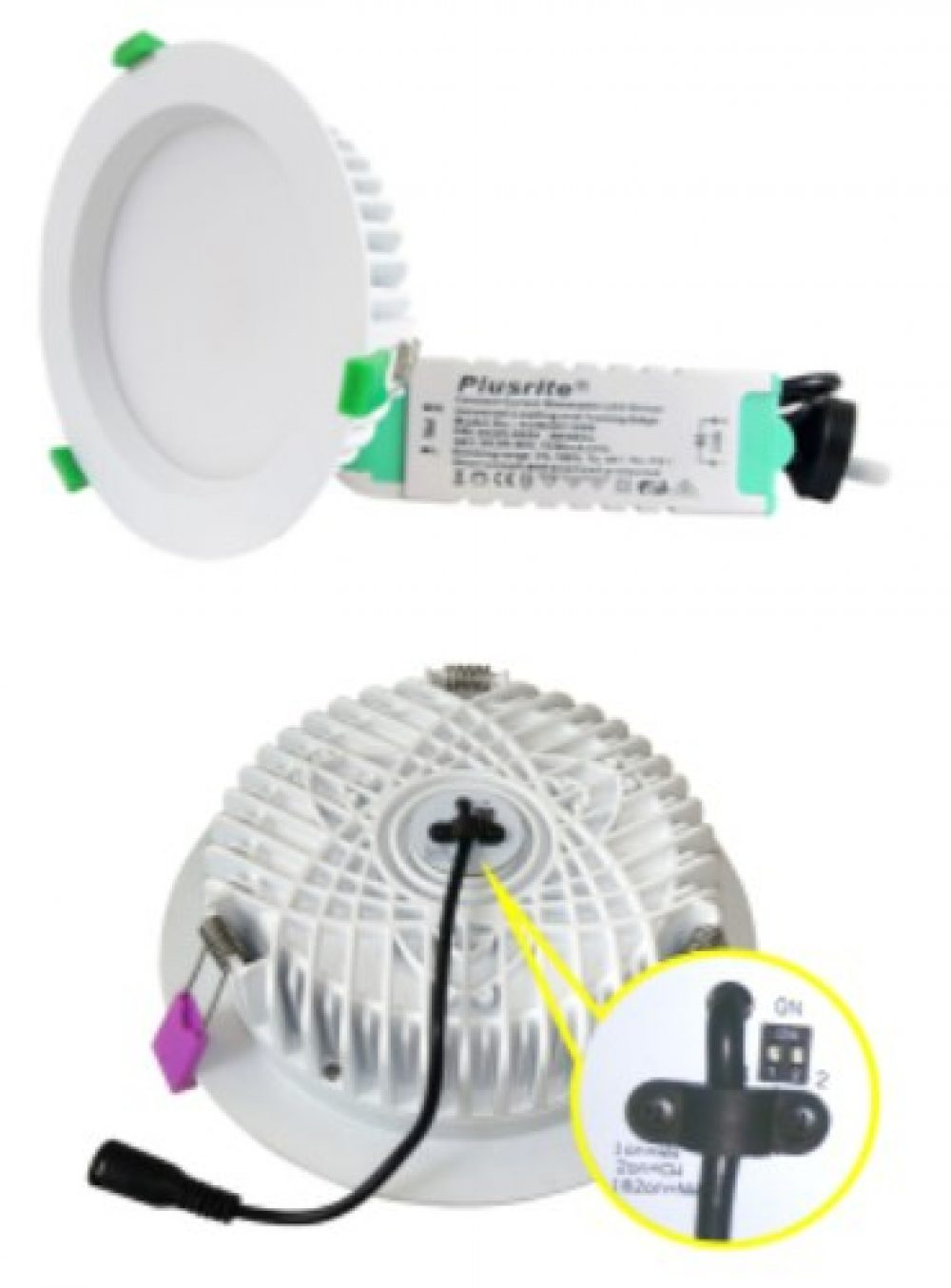LED Downlight AU08-DL40W/W/BS