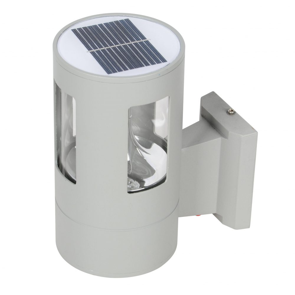 Solar LED Wall Light PLS-WL-2W-3K