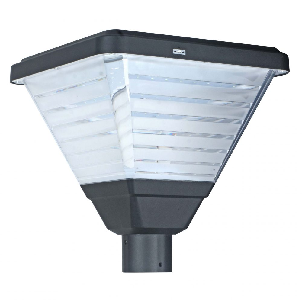 Solar LED Post Top Light PLS-20W/PTG