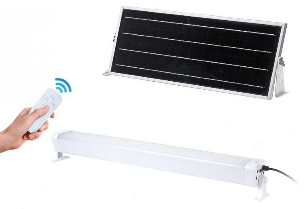 Solar LED Batten Light PLS-BAT60W-6K