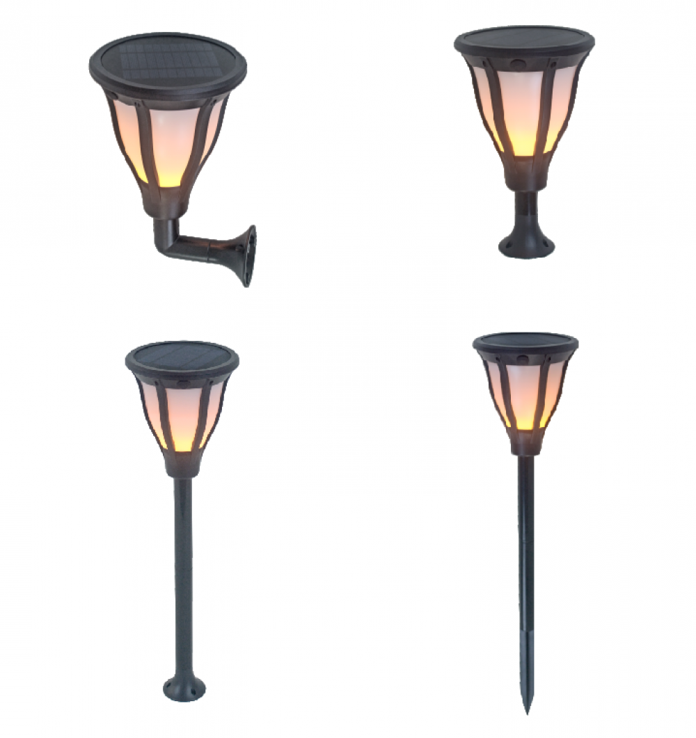 Solar LED Garden lights PLS-F-2W