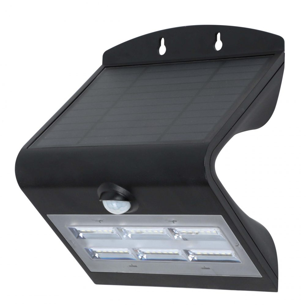 Solar LED Wall Light PLS-WL-8W-3K/6K